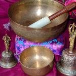 Тибетские колокольчики и поющие чаши для очищения и гармонизации пространства