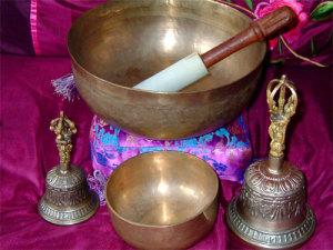 Релаксация с помощью тибетских колокольчиков и чаш