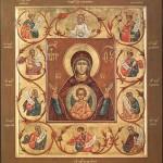21 марта — день празднования иконы Божией Матери «Знамение» (Курской-Коренной)