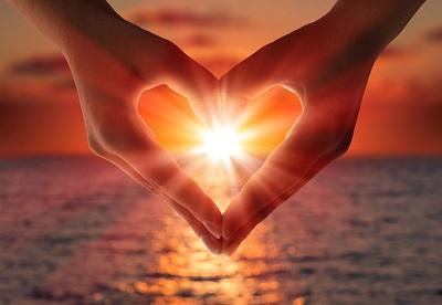 Настроение дня - расцветающее сердце