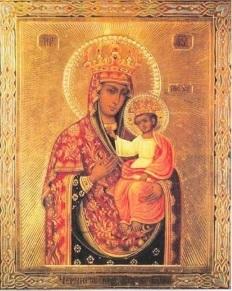Пресвятая Богородица Ильинско-Черниговская