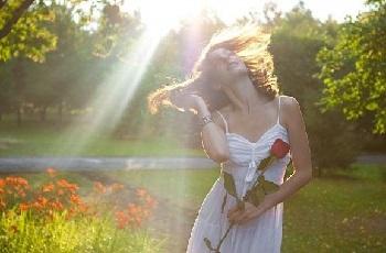 Настроение дня — луч солнца