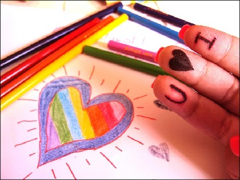 Настроение дня — цвет любви