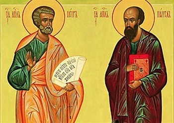 12 июля — день апостолов Петра и Павла