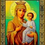 24 декабря — день празднования иконы Божией Матери Ташловской «Избавительница от бед»