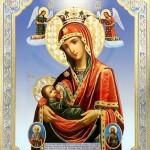 25 января — день празднования иконы Божией Матери «Млекопитательница»